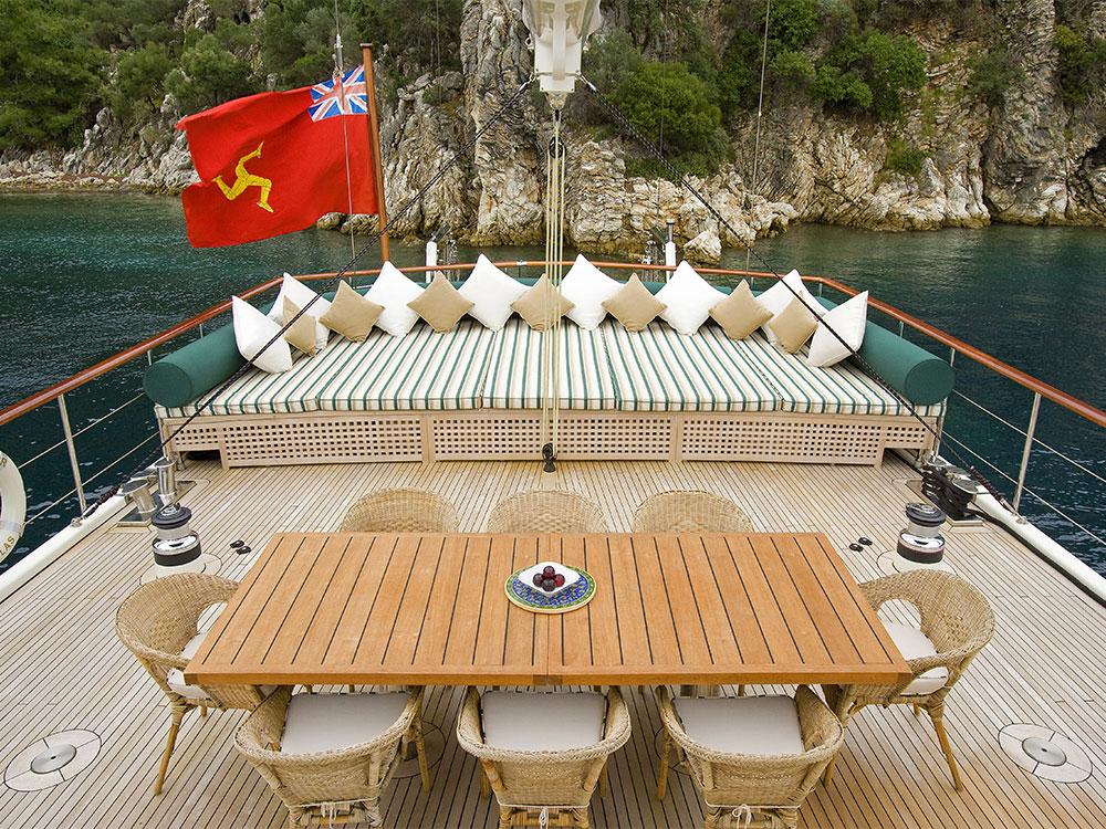 M/S Sailing Nour deck