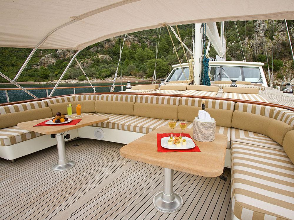 M/S Sailing Nour deckhouse