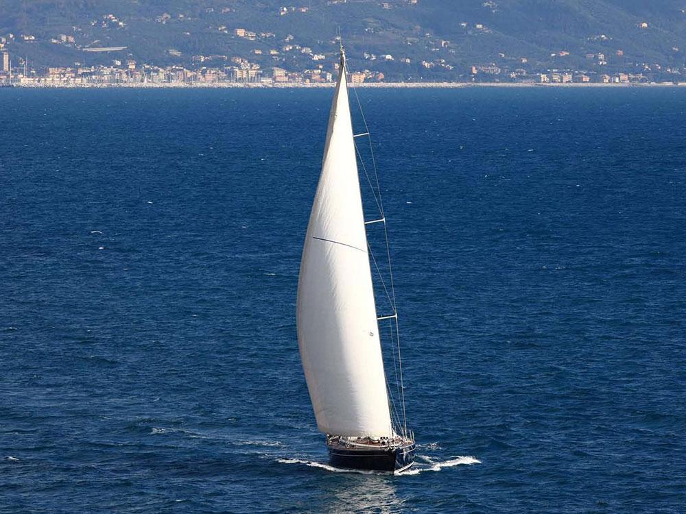 Blue Reflection sailing yacht