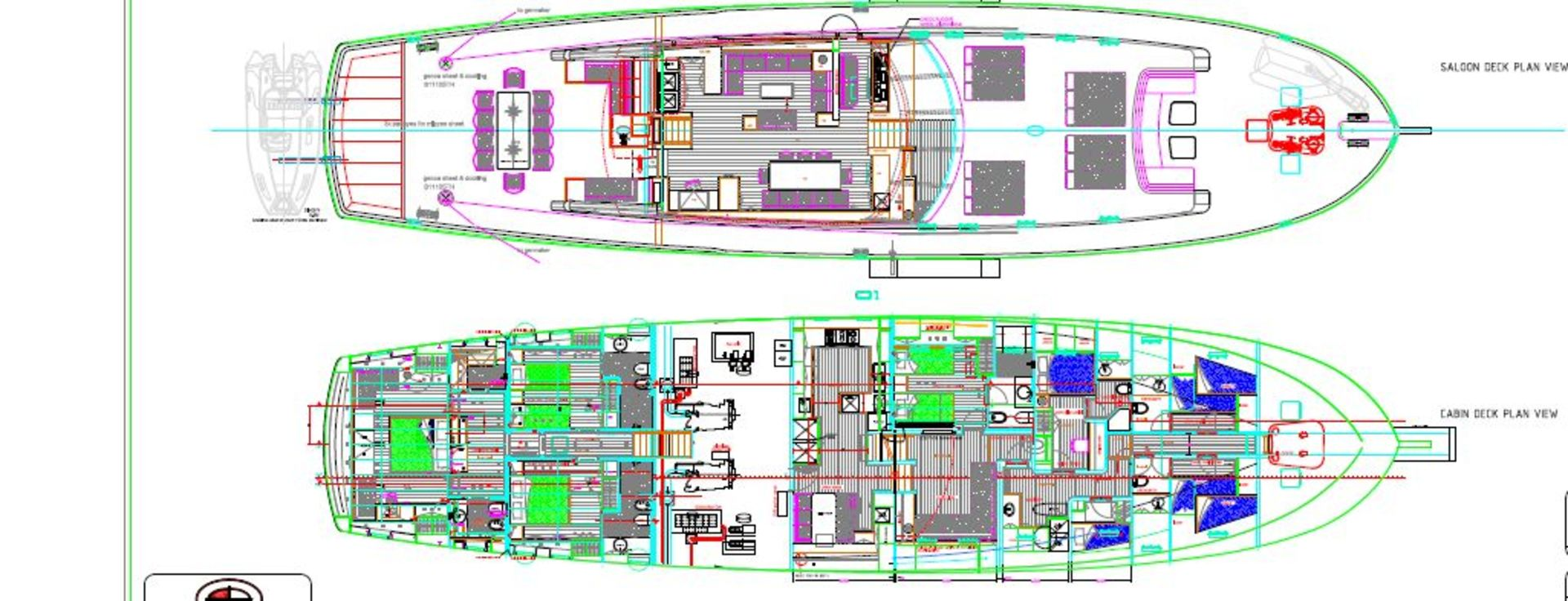 sailing nour layout interior