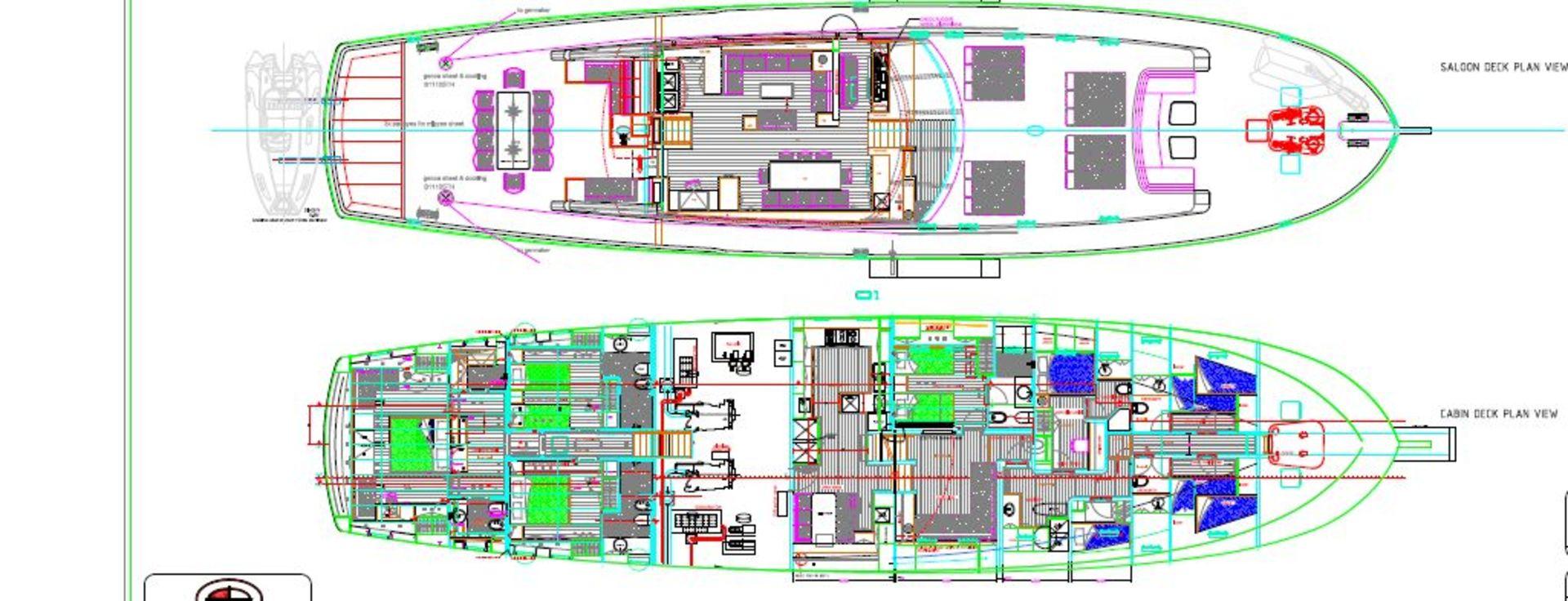 sailing nour layout interior