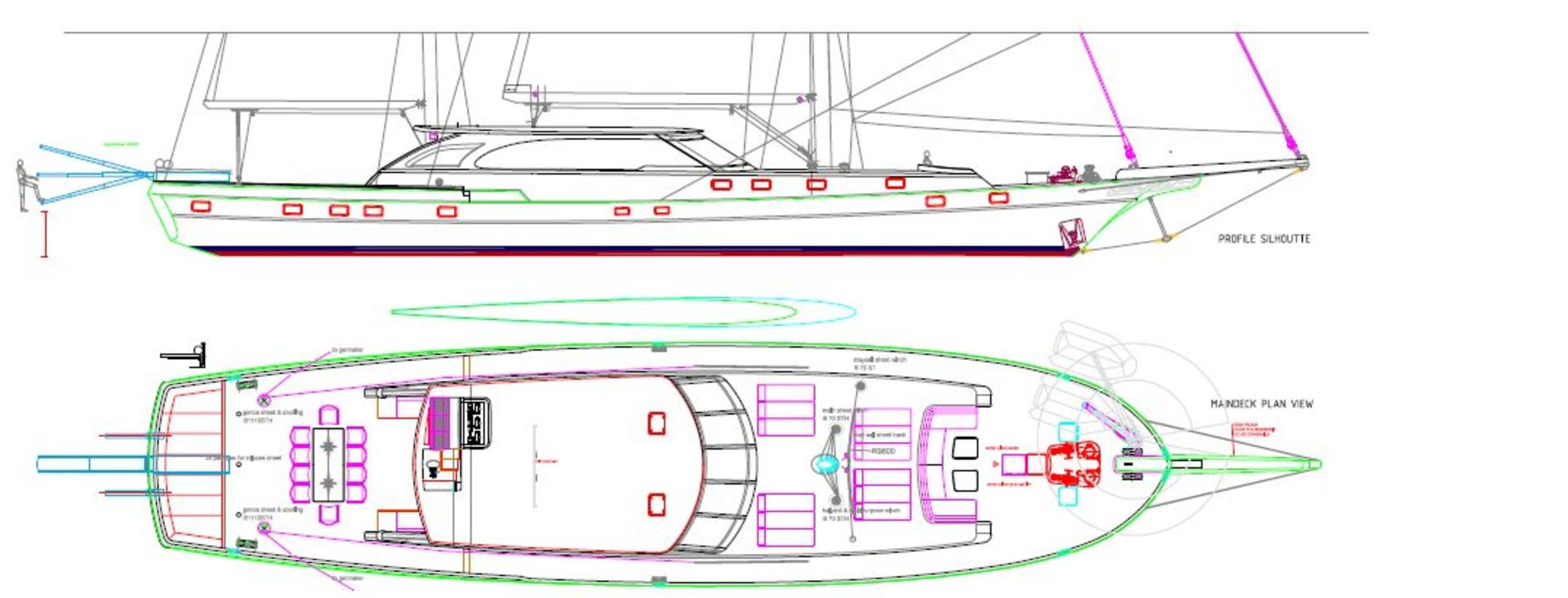 sailing nour layout