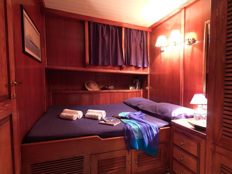 Myra guest cabin