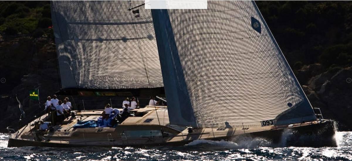 Ikaika Felci 80 sailing