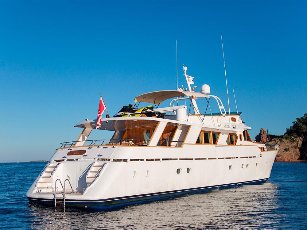 Libertus motor yacht sale