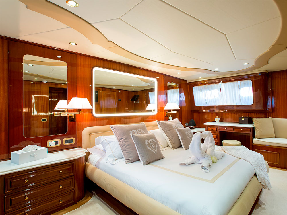 Libertus interior owner cabin