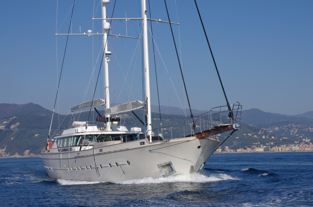 Renaissance & Andromeda yacht in vendita