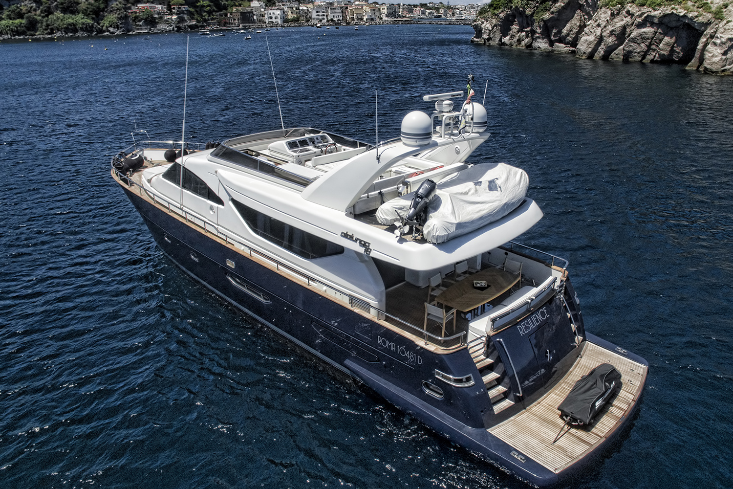Resilience exterior yacht for sale