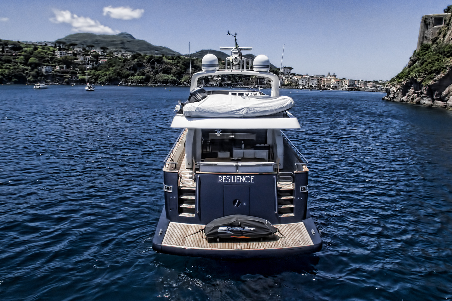 Resilience motor yacht for sale