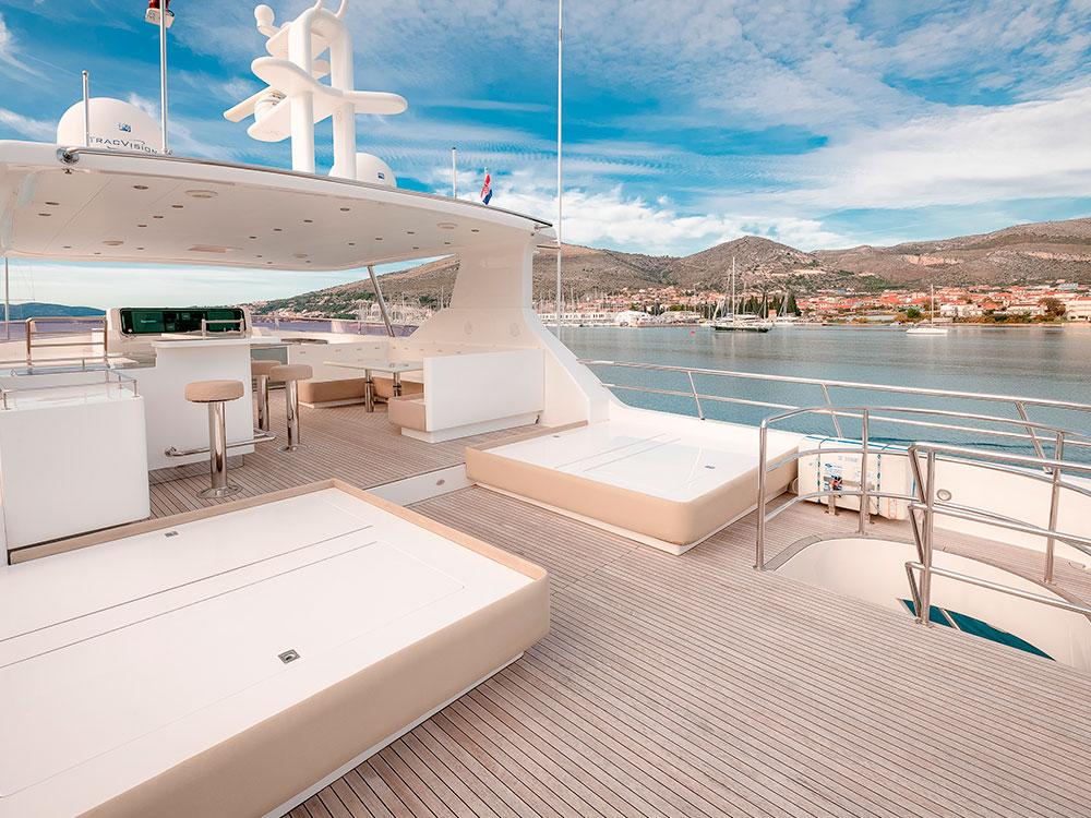 virgin gold exterior deck