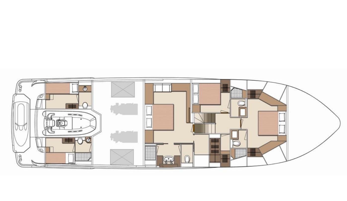 virgin gold lower deck layout