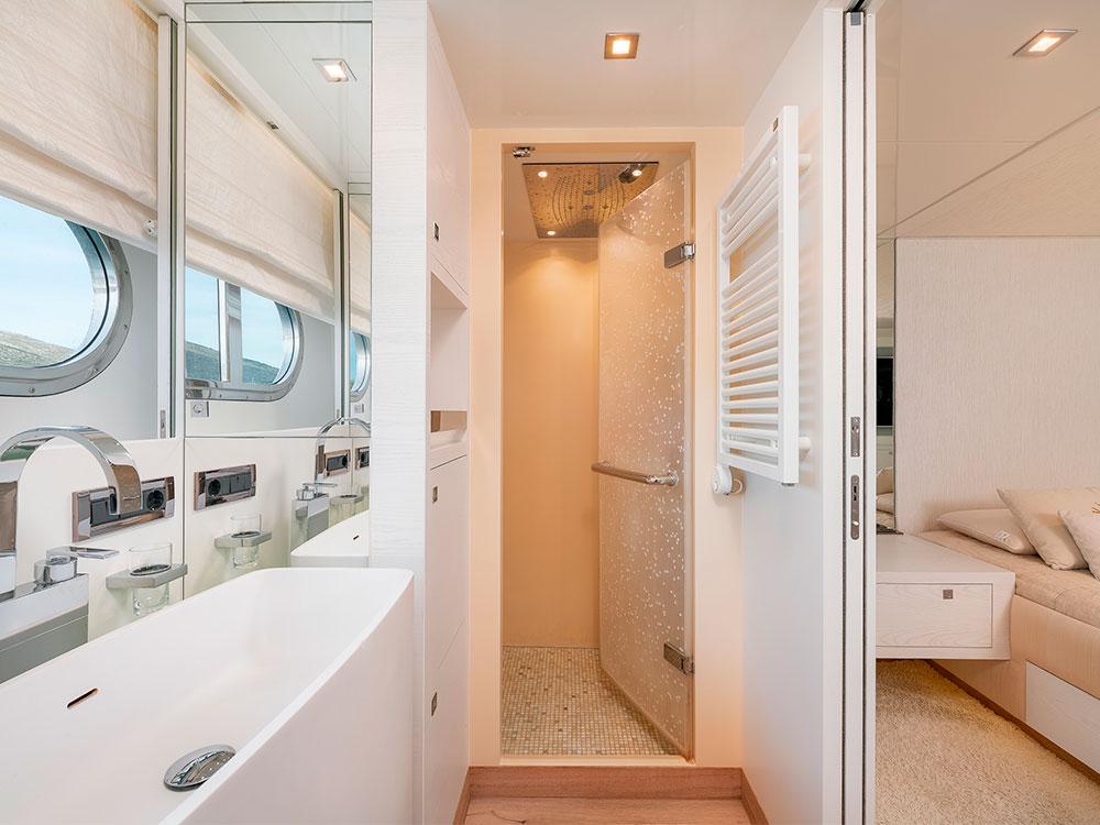 virgin gold interior cabins