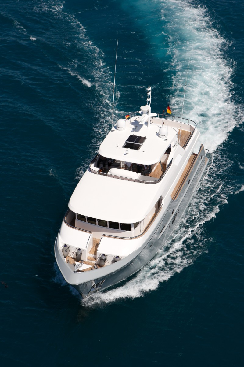 Virgin gold motor yacht for sale