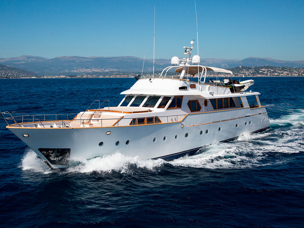 libertus motor yacht for sale