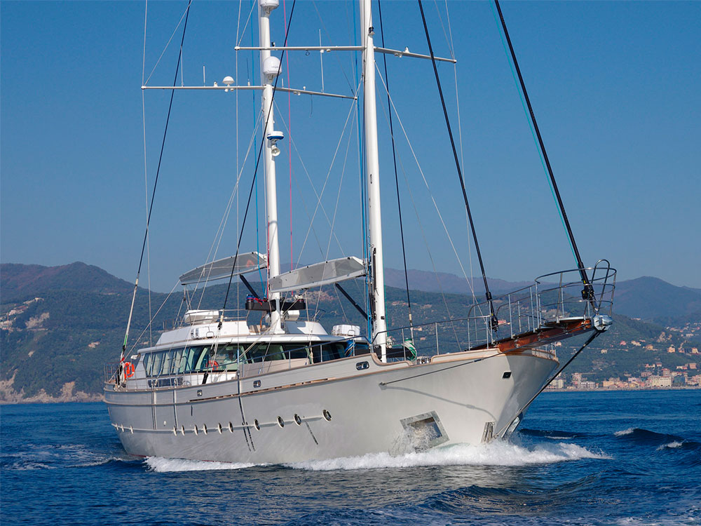 renaissance sailing yacht for sale