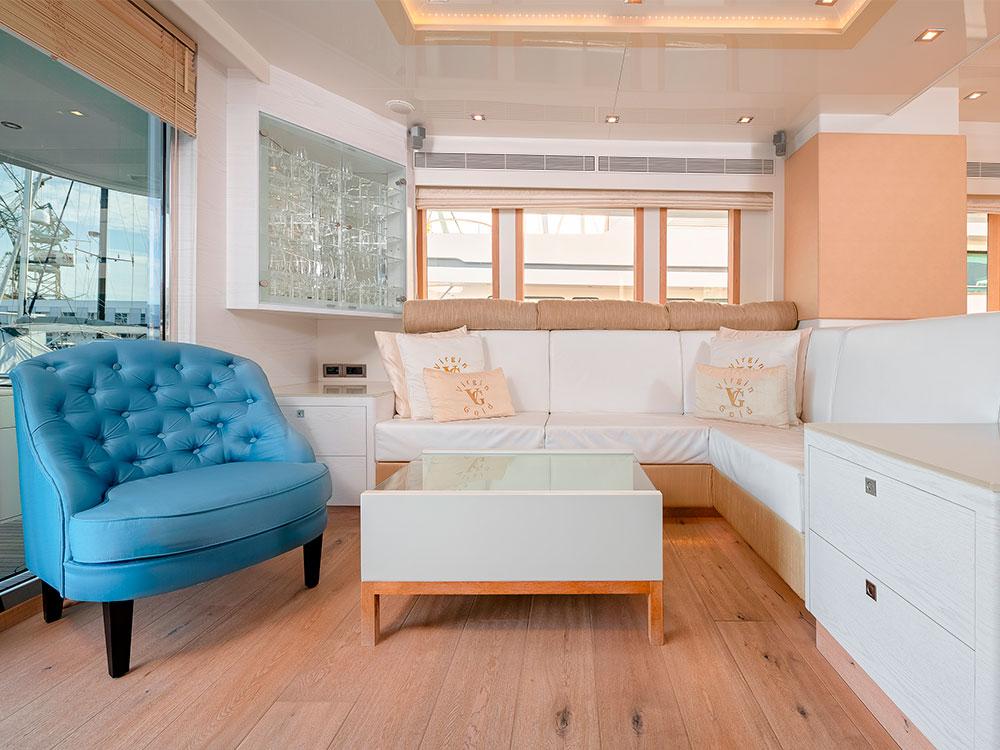 virgin gold sofa