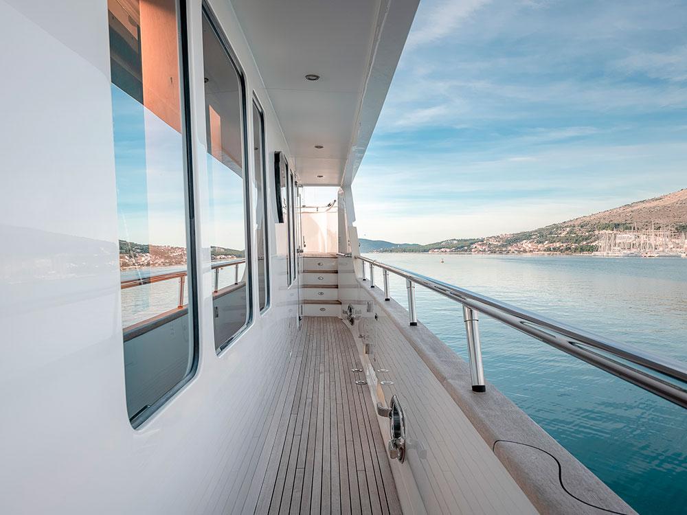 virgin gold yacht exterior