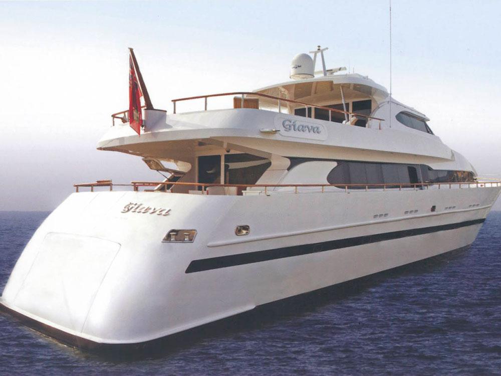 giava motor yacht for sale