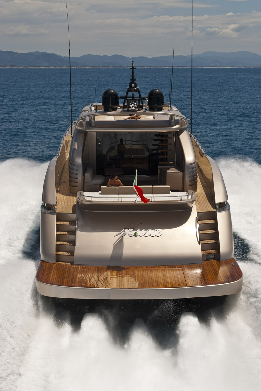 musa ab yachts bow