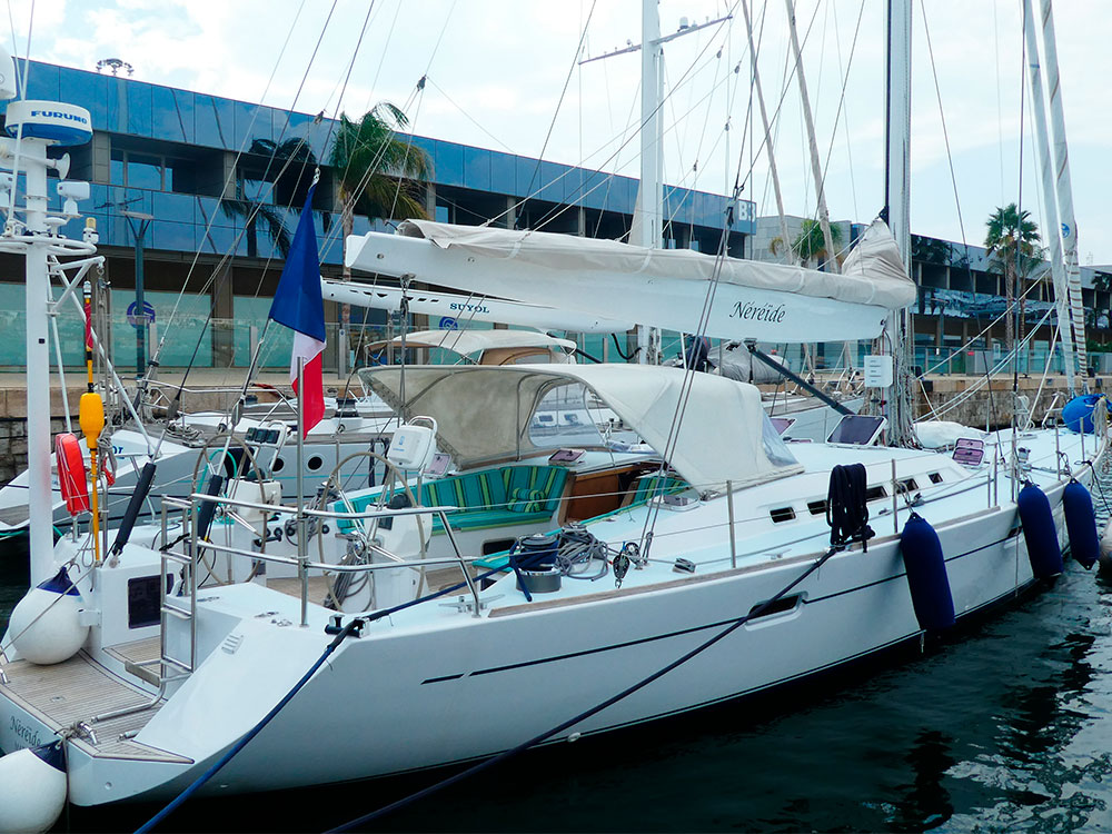 NEREIDE YACHT FOR SALE TAHITI