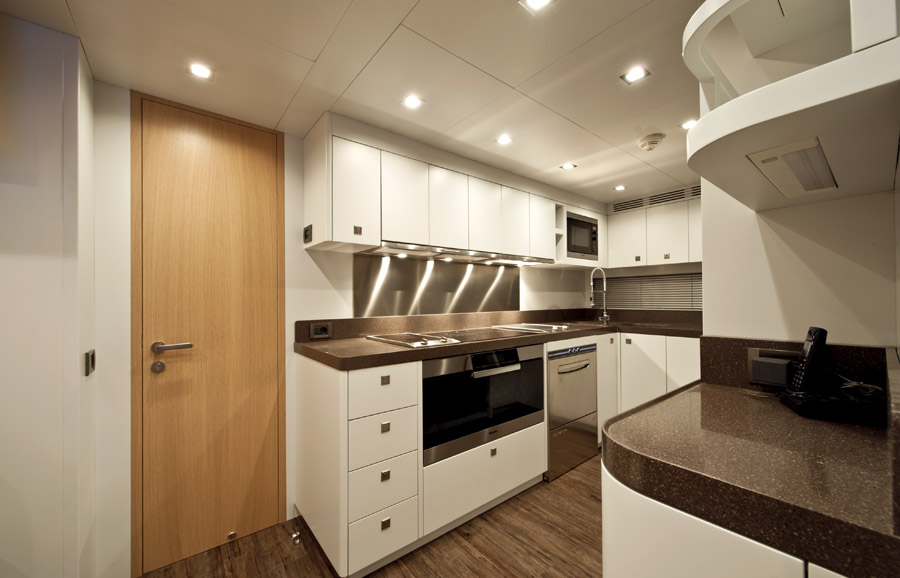 ab yachts musa for sale galley