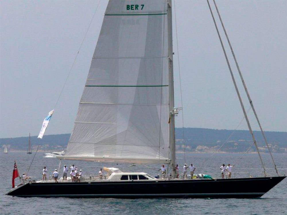 Billy Budd 2 sailing yacht for sale