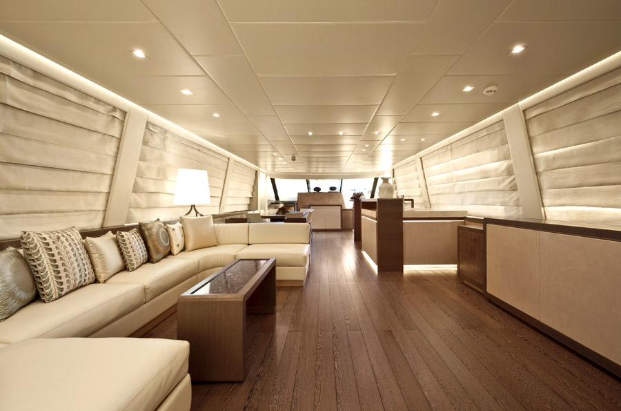 musa yacht for sale salon