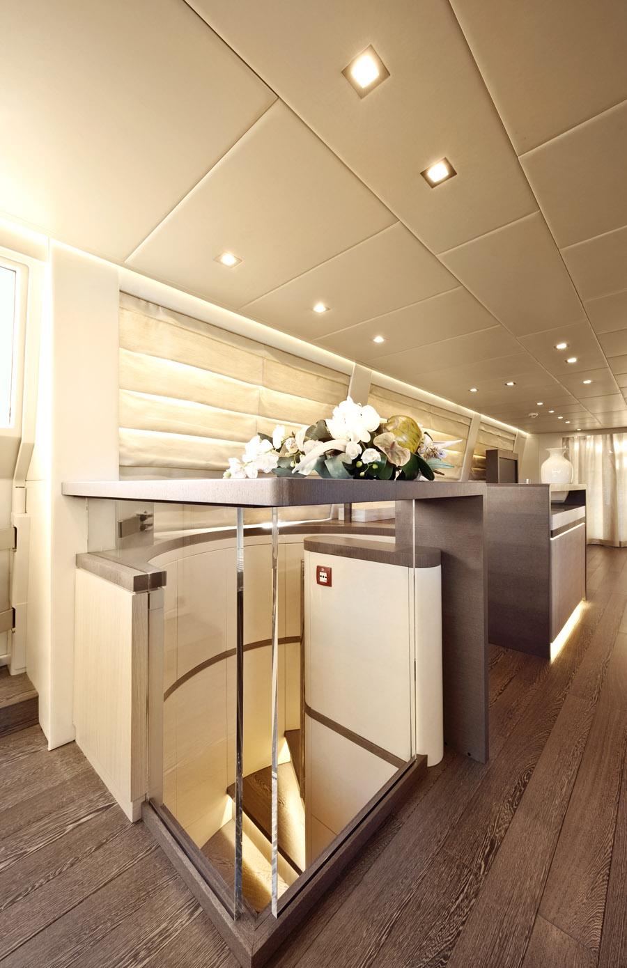 musa yacht interior