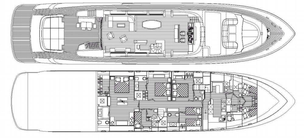 musa yacht layout deck interior
