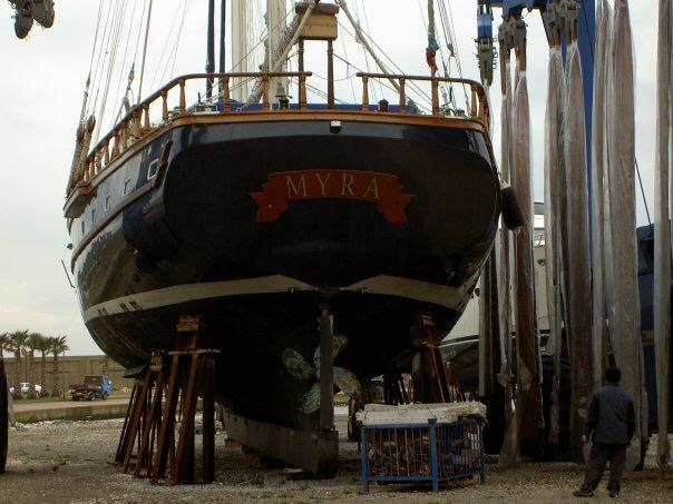 myra yacht shipyard