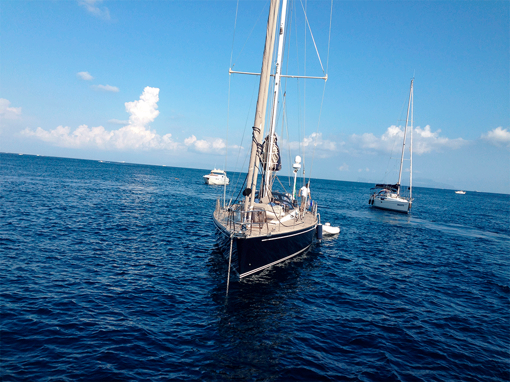 south wind 65 sailing yacht
