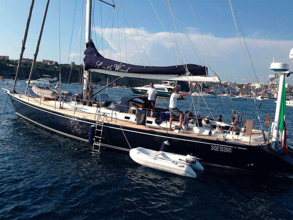 south wind sailing yacht for sale