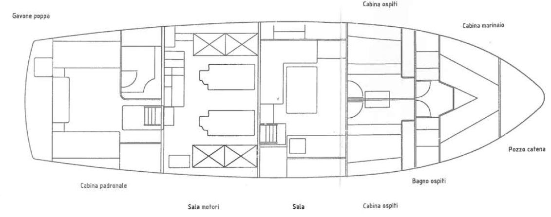de cesari la ghibellina layout