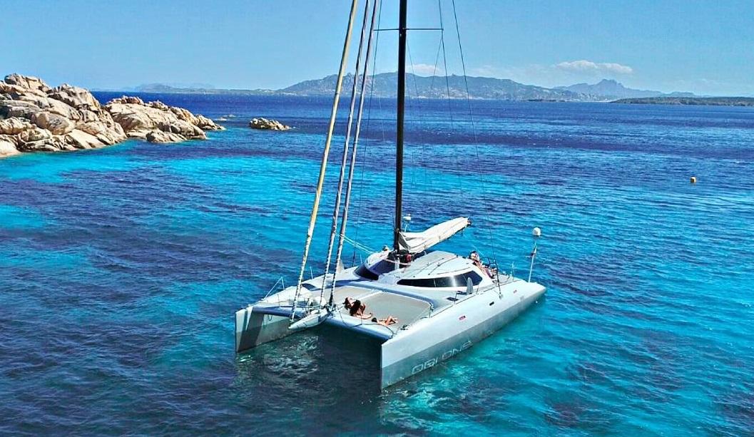obi one catamaran