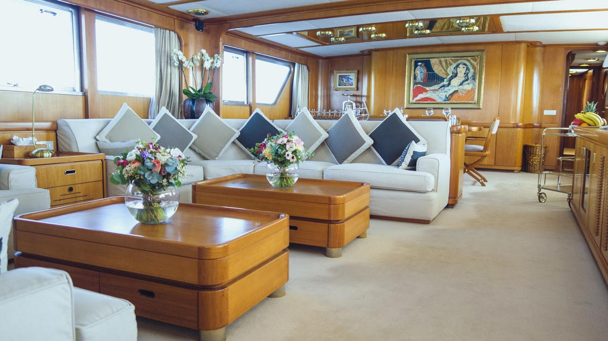 Classic motor yachts for sale in Europe