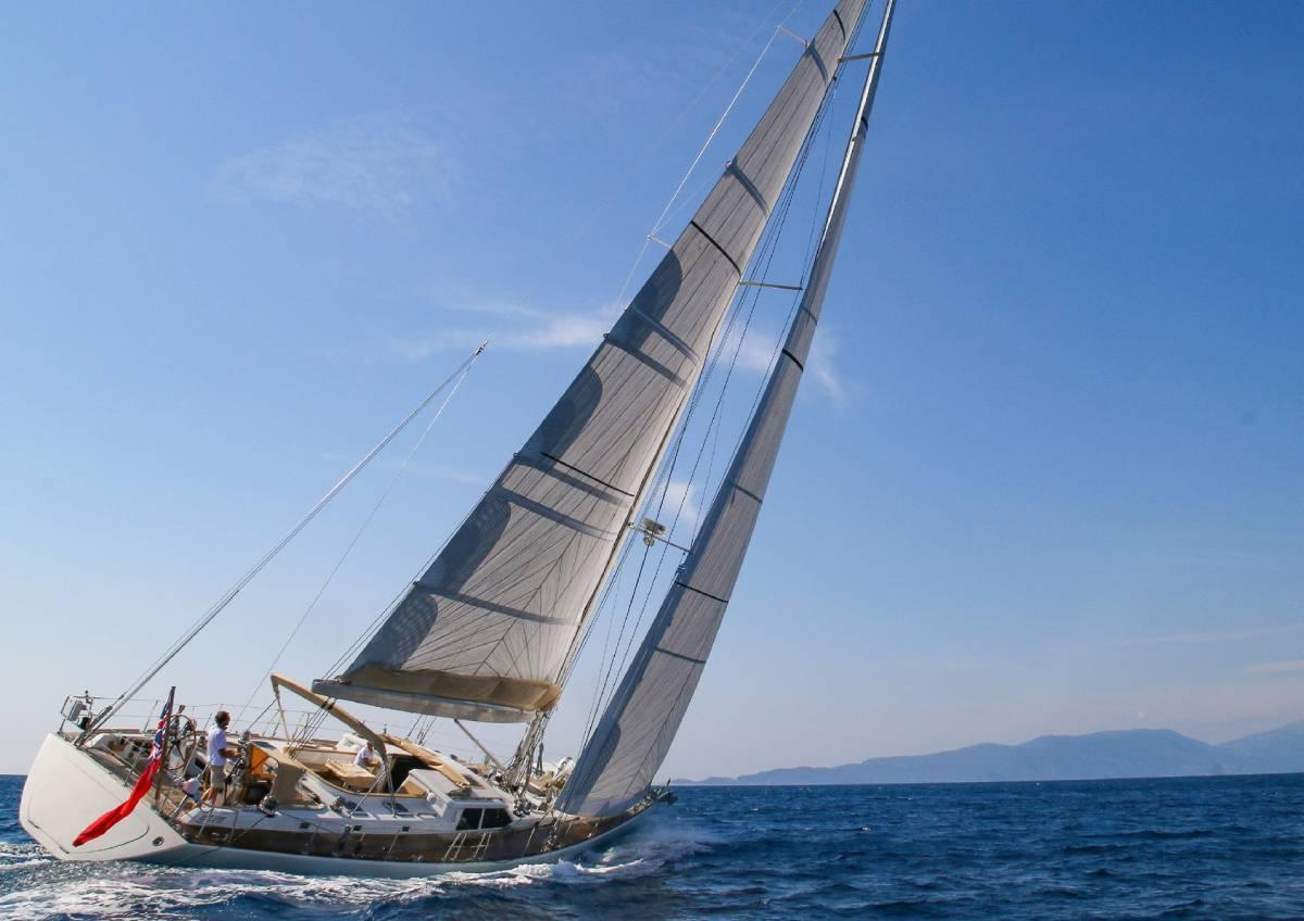 Camilla of London sailing