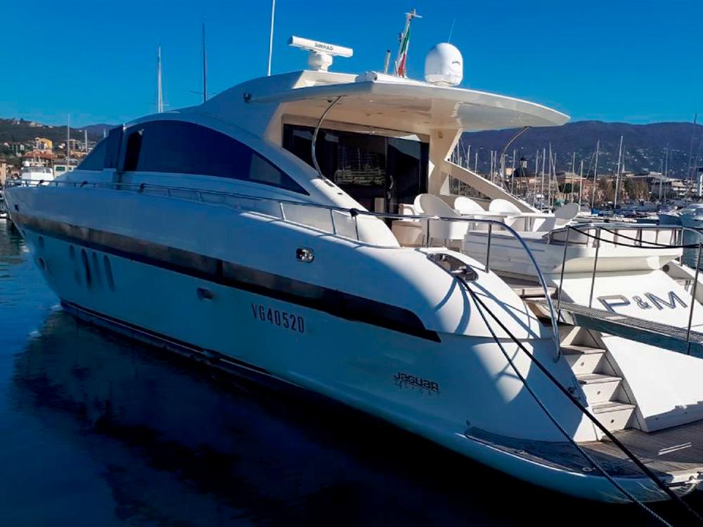 jaguar 80 p & m yacht