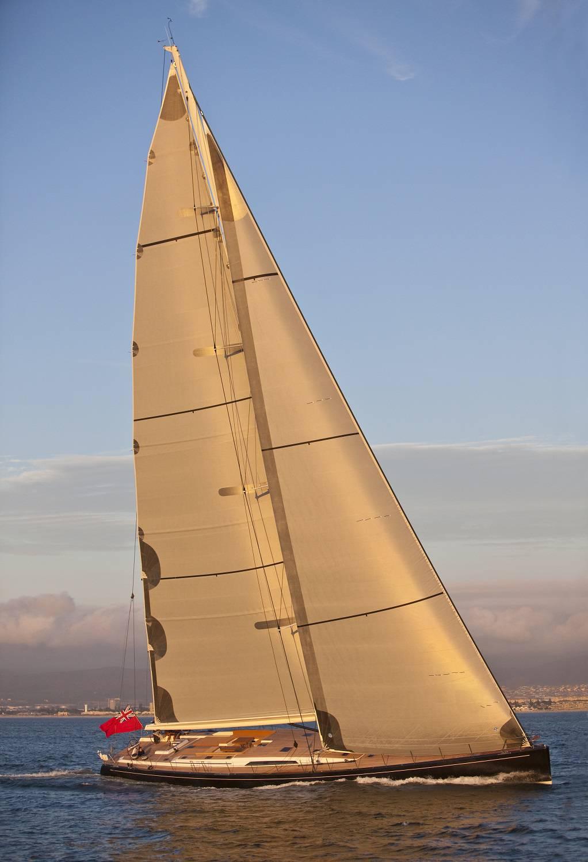 SW110 Thalima sailing