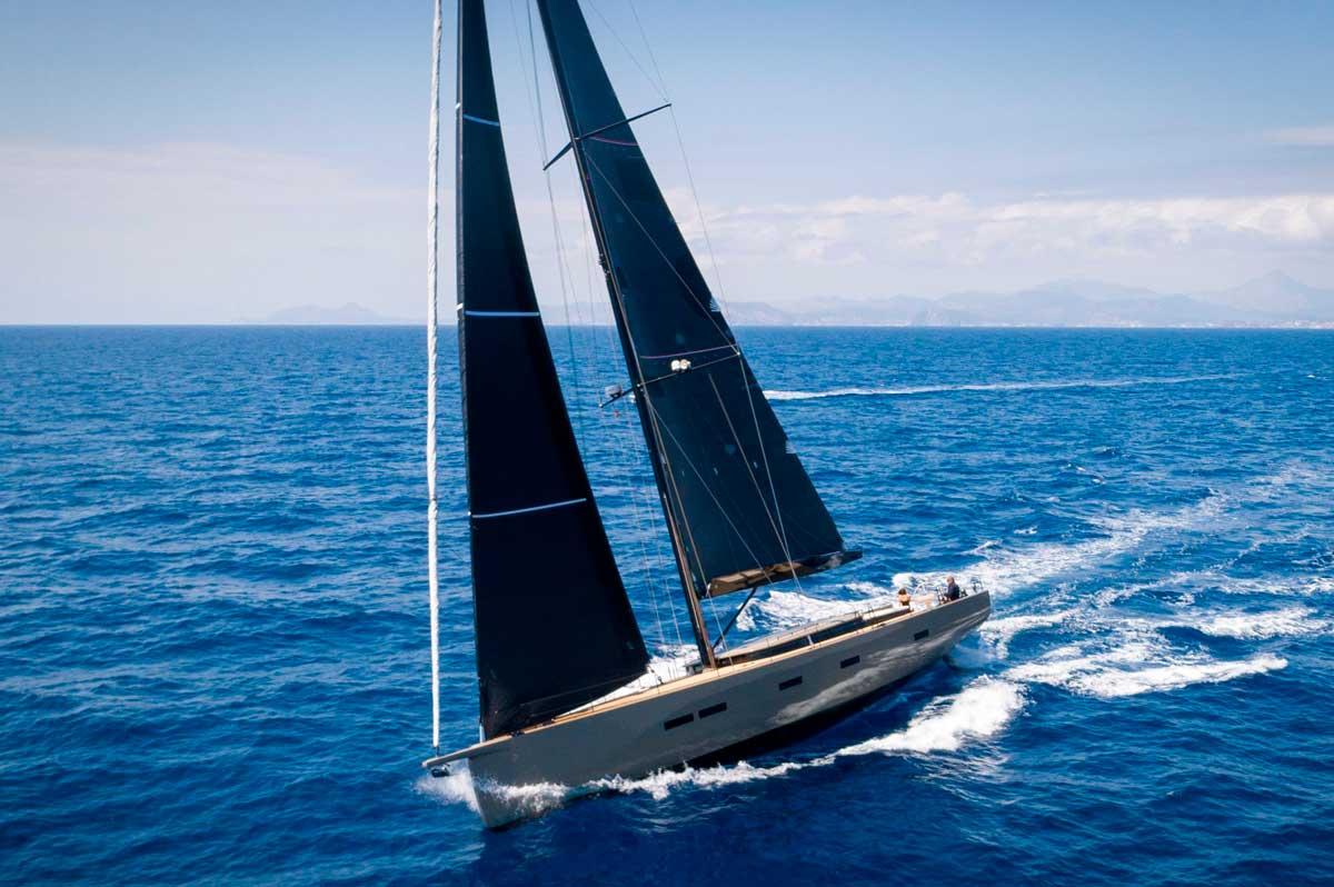 Y7.010 Michael Schmidt sailing