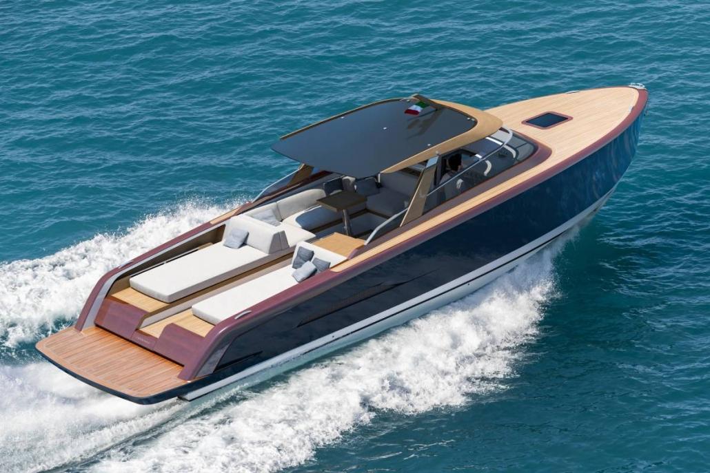 Heritage 9.9 luxury tender