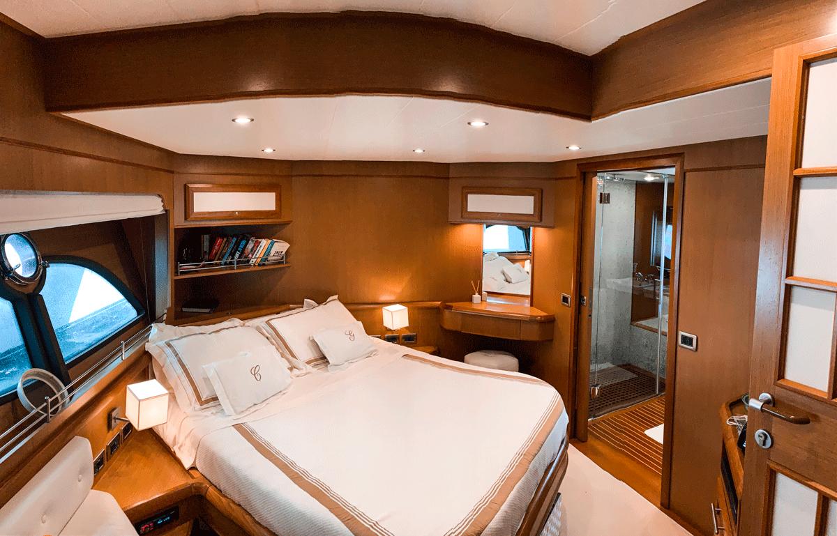 graceland mochi 64 cabina armatoriale