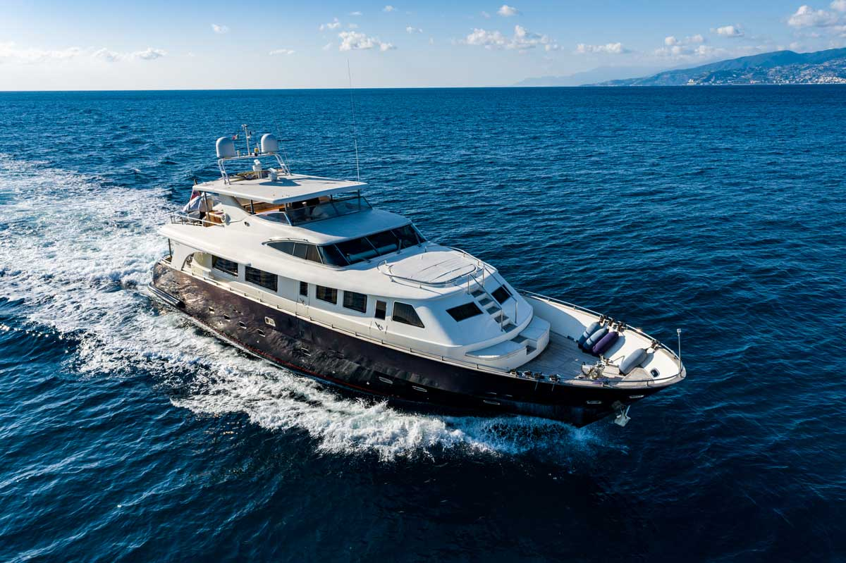 gianetti yacht g85 sale
