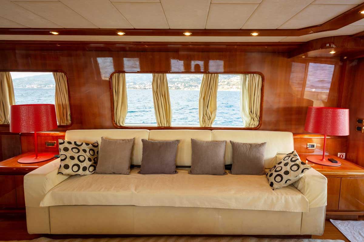 gianetti yacht sofa