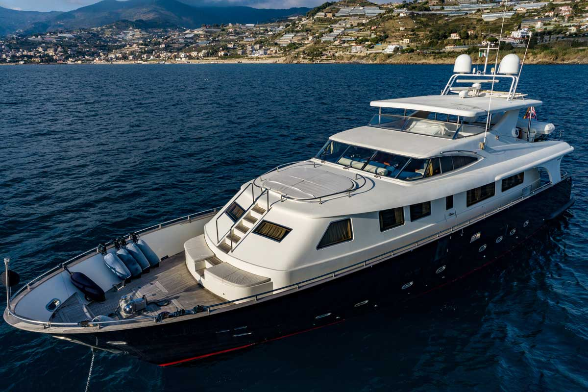ariston five yacht sale