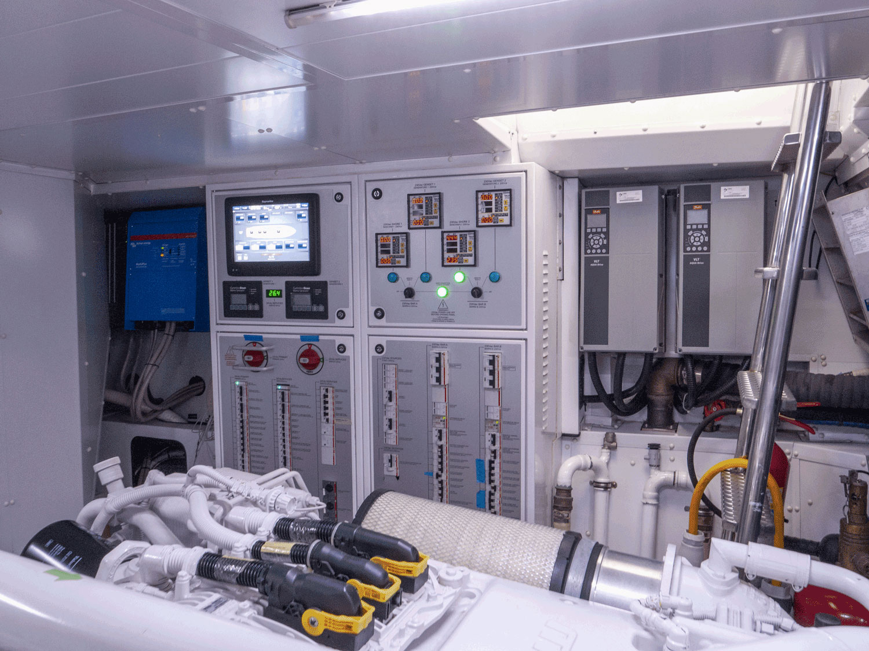 lady e engine room