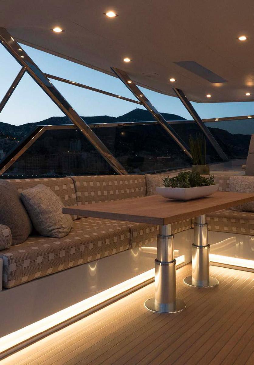 MAVI exterior lounge