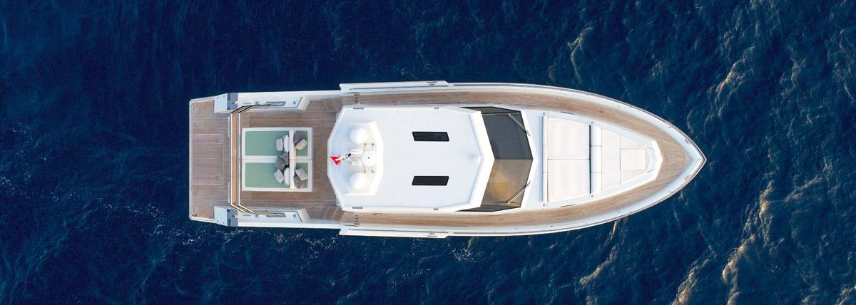 Maviho drone yacht in vendita